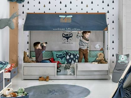 Lifetime Kinderbett 4-in-1 mit Dach