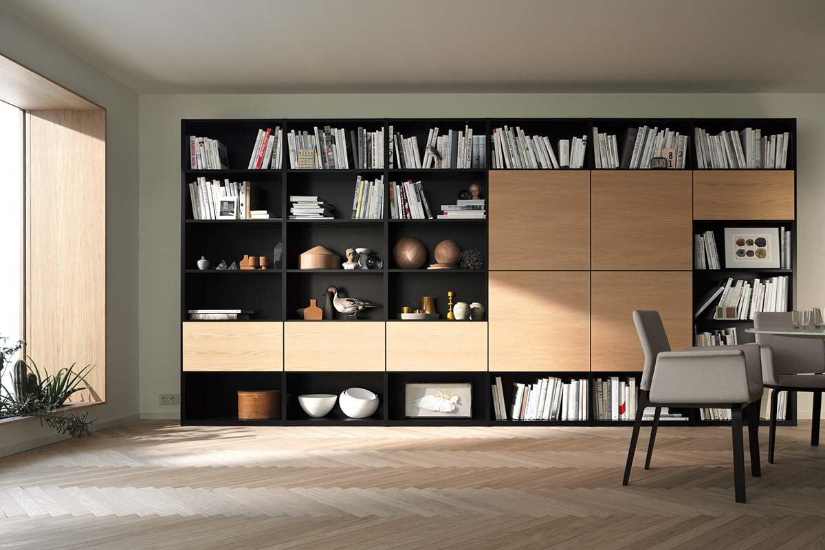 interl bke studimo flexibles regalsystem einrichtungsh user h ls. Black Bedroom Furniture Sets. Home Design Ideas