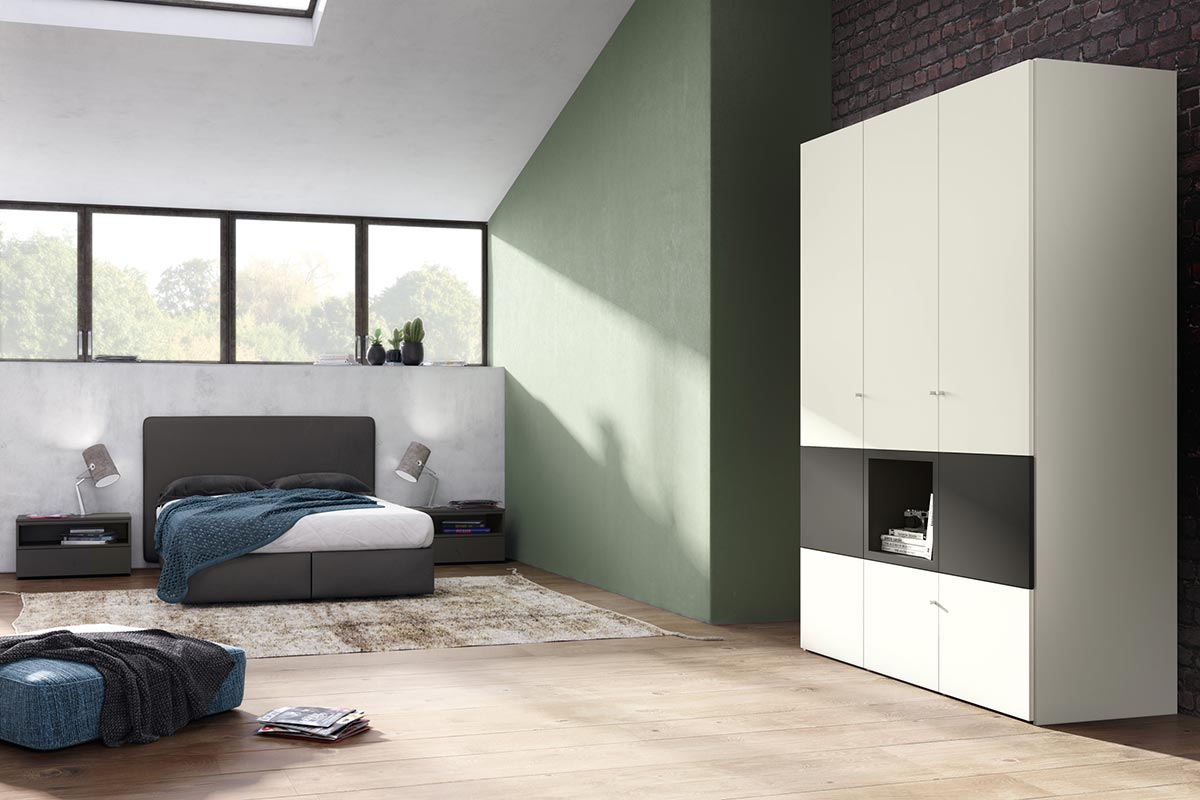 now flexx kleiderschrank einrichtungsh user h ls. Black Bedroom Furniture Sets. Home Design Ideas