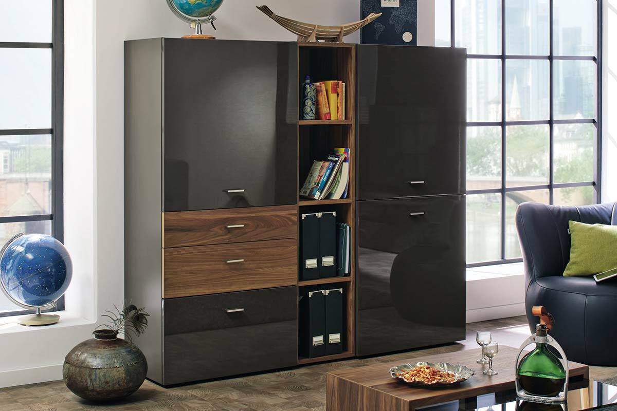 now no 14 highboard einrichtungsh user h ls schwelm. Black Bedroom Furniture Sets. Home Design Ideas