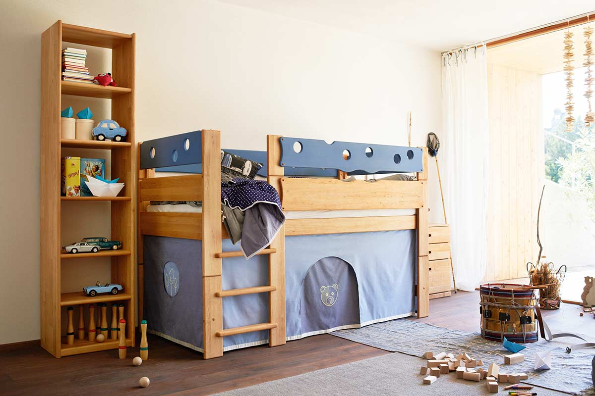 team 7 kinderbett mobile einrichtungsh user h ls schwelm. Black Bedroom Furniture Sets. Home Design Ideas