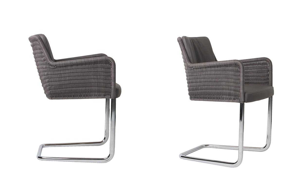 tecta d43 stuhl mit hochwertigem geflecht. Black Bedroom Furniture Sets. Home Design Ideas
