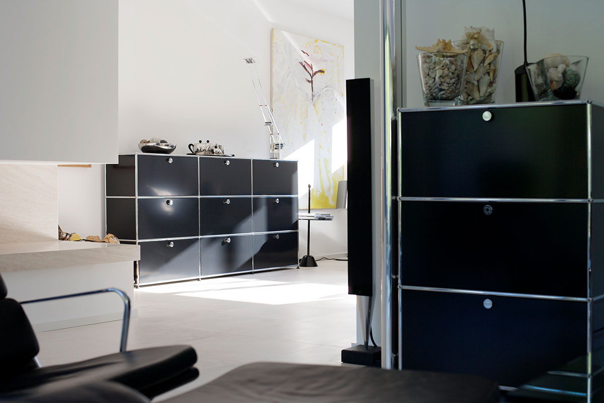 usm haller highboard einrichtungsh user h ls schwelm. Black Bedroom Furniture Sets. Home Design Ideas