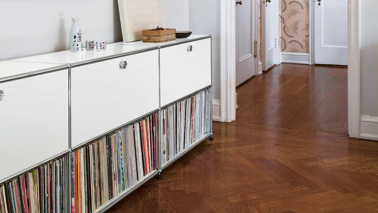 usm haller lowboard einrichtungsh user h ls schwelm. Black Bedroom Furniture Sets. Home Design Ideas