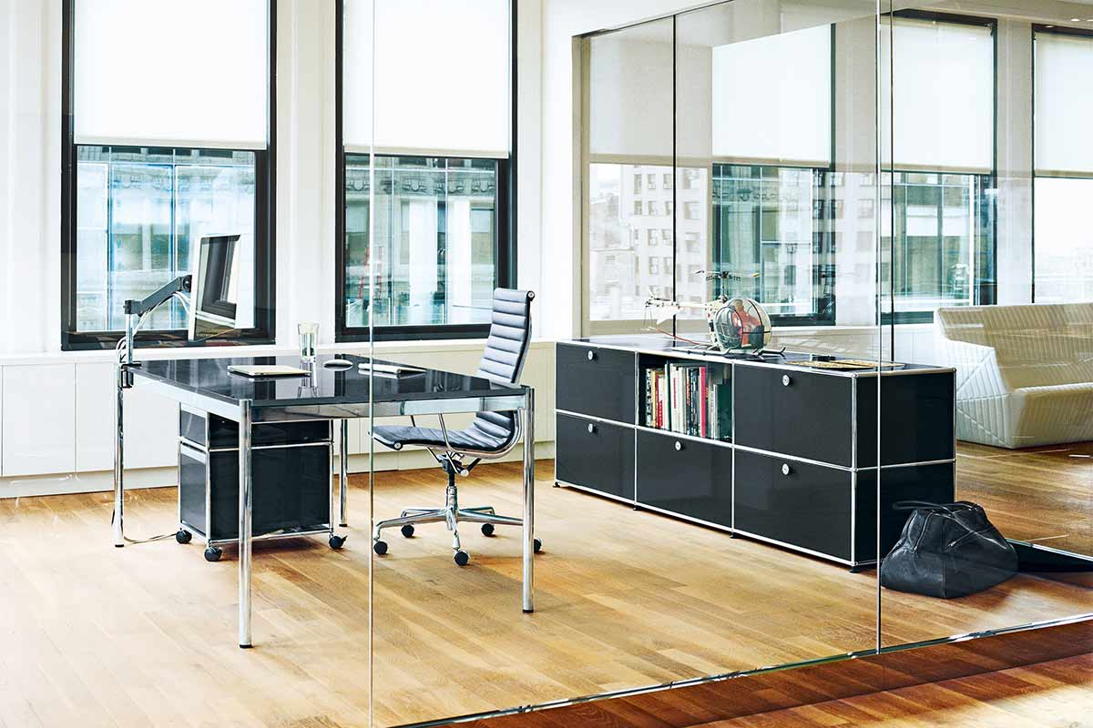 usm haller tisch einrichtungsh user h ls schwelm. Black Bedroom Furniture Sets. Home Design Ideas