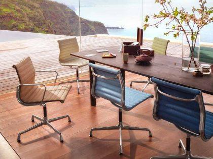 VITRA Aluminium Chair EA 101, EA 103 und EA 104