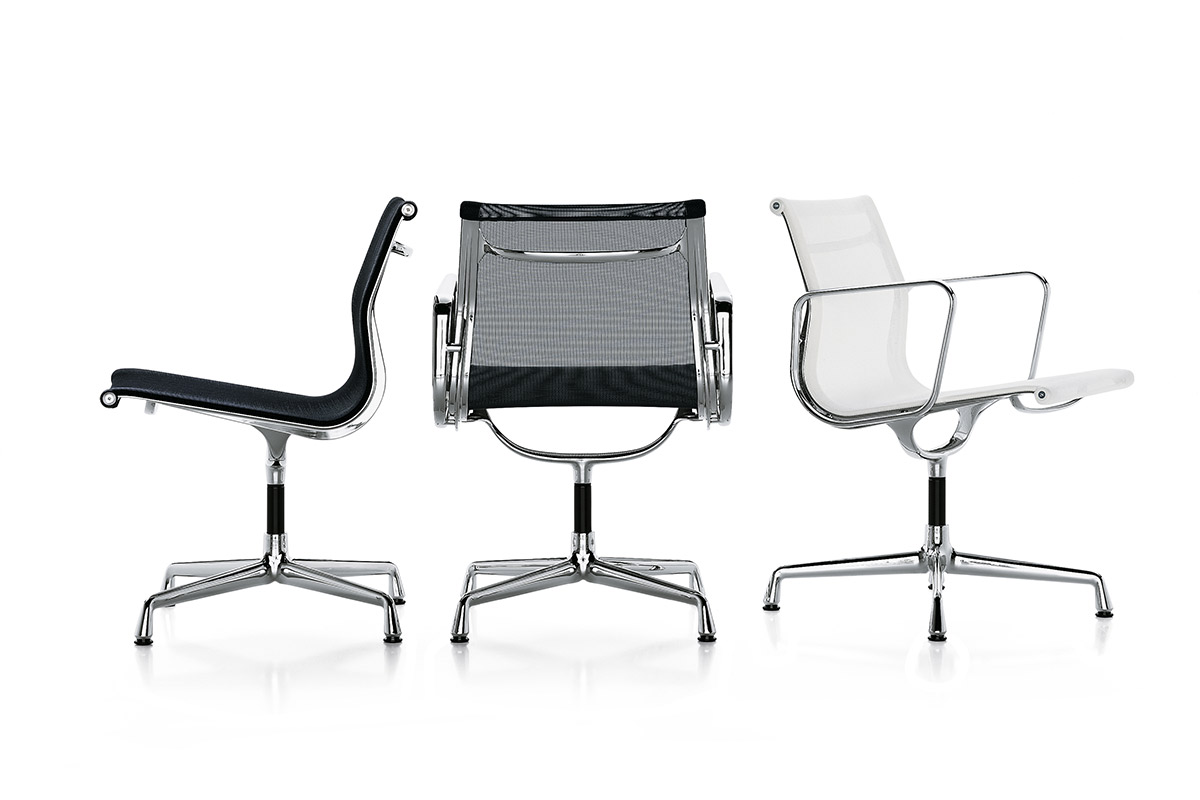 vitra aluminium chair der klassiker einrichtungsh user h ls. Black Bedroom Furniture Sets. Home Design Ideas