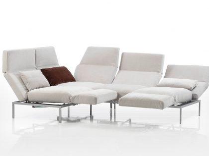 Brühl Roro Soft Sofa über Eck