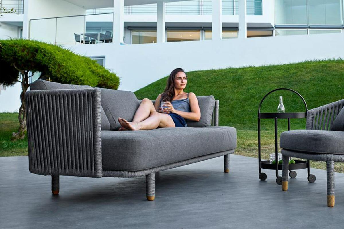 Cane-line Moments Sofa