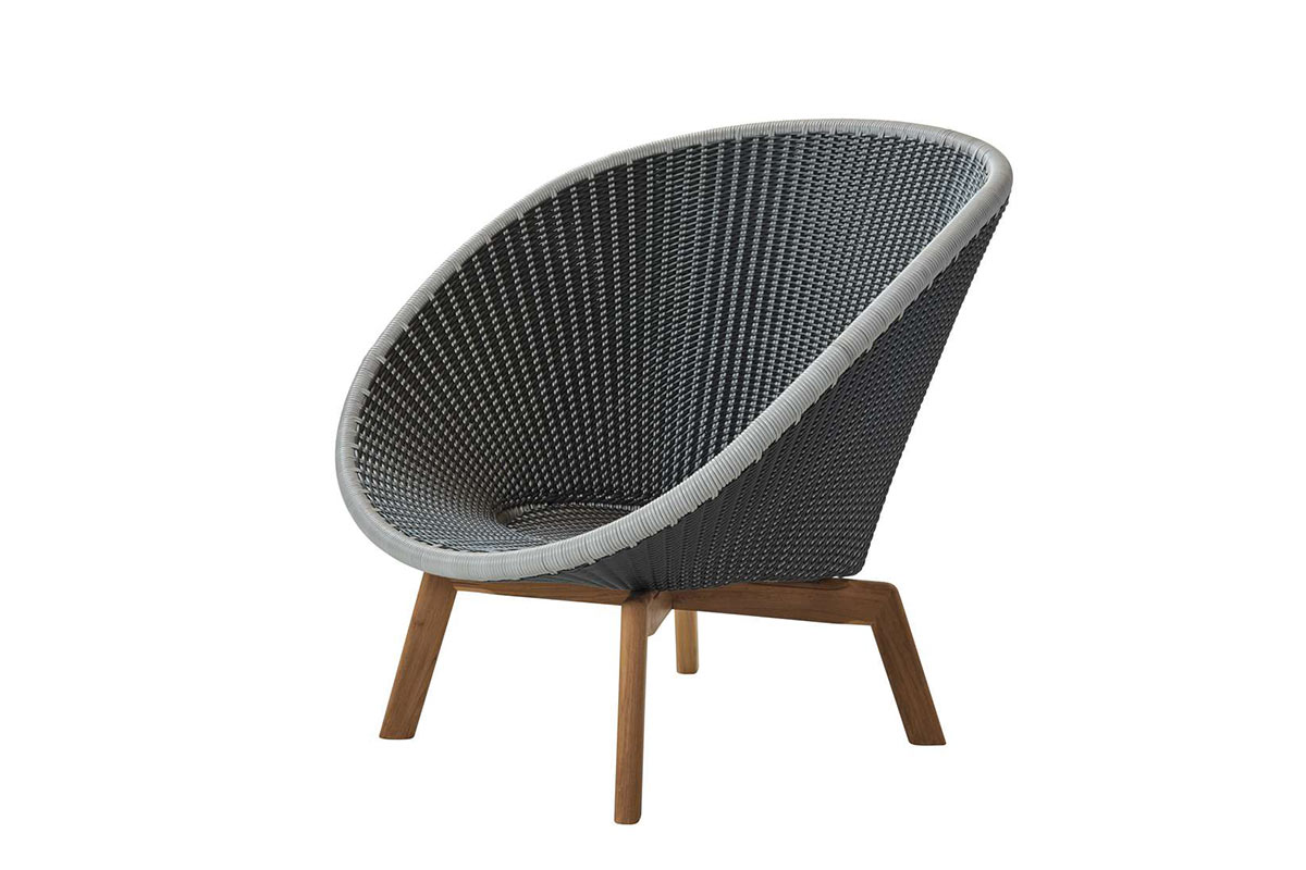 cane line breeze hochlehnsessel f r den garten einrichtungsh user h ls. Black Bedroom Furniture Sets. Home Design Ideas