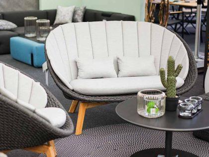 Cane-line Sofa Peacock