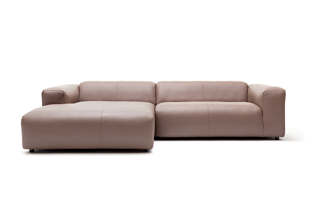 Freistil 187 sofa markenm bel bei den for Rolf benz ledergarnitur