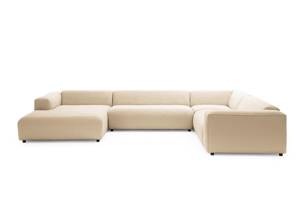Freistil 187 sofa markenm bel bei den for Rolf benz ausstellung