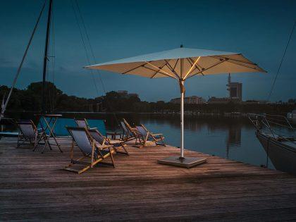 Glatz Sonnenschirm Fortello LED