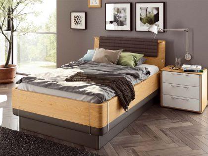 Hülsta Multi-Bed, Kopfteil A, Bettumrandung Holz