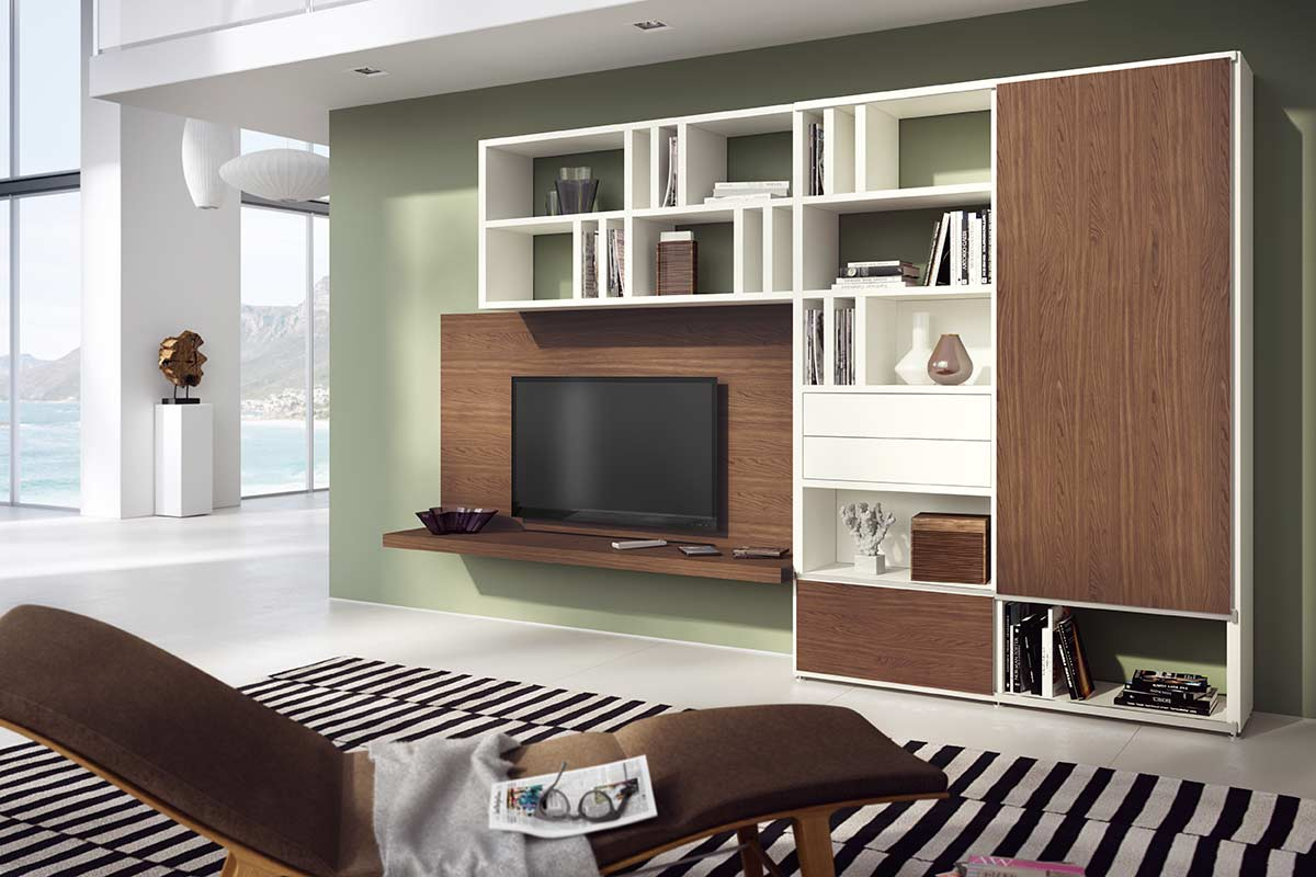h lsta mega design regalwand einrichtungsh user h ls. Black Bedroom Furniture Sets. Home Design Ideas