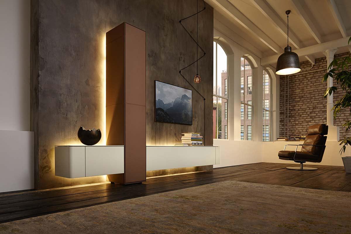 Moderne wohnwand hülsta  HÜLSTA Gentis Wohnwand - Einrichtungshäuser Hüls Schwelm