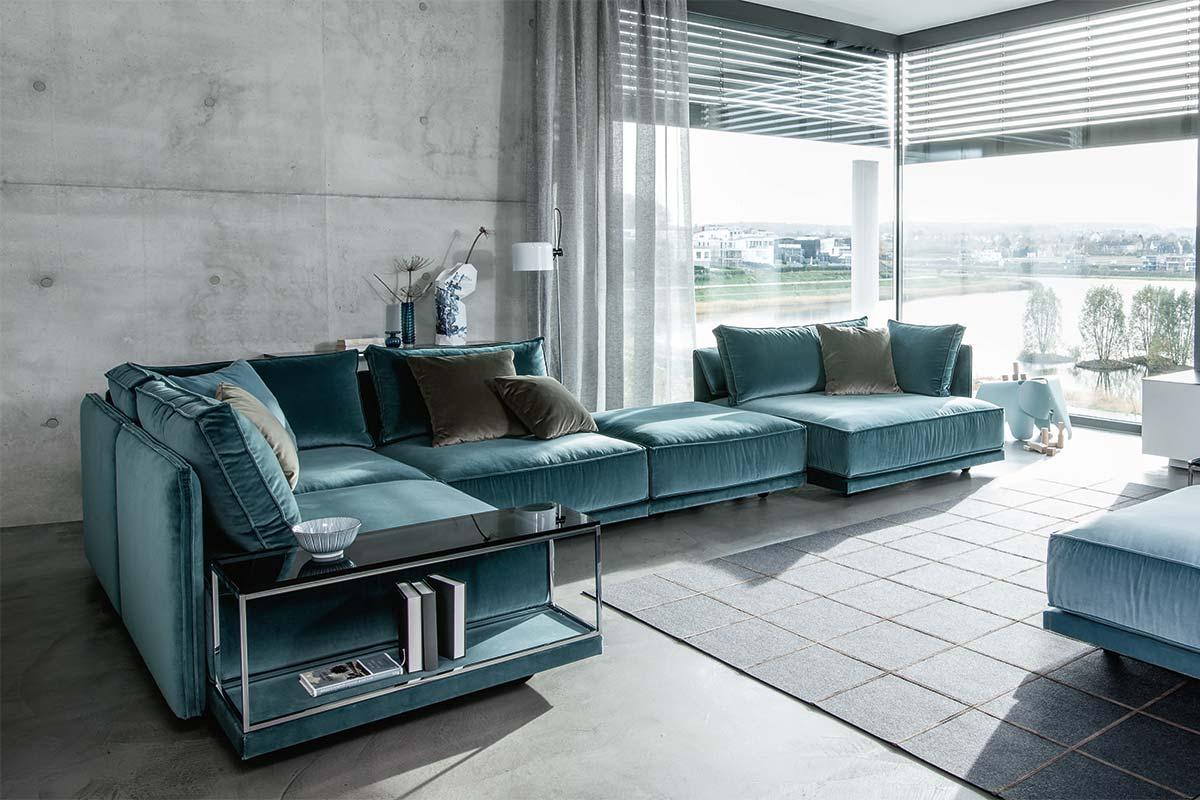 Ipdesign sofa cube lounge einrichtungshäuser hüls schwelm