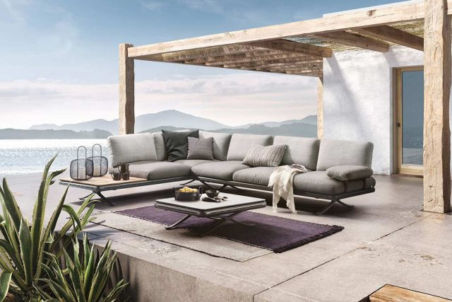 Rolf Benz Outdoor Sofa Yoko