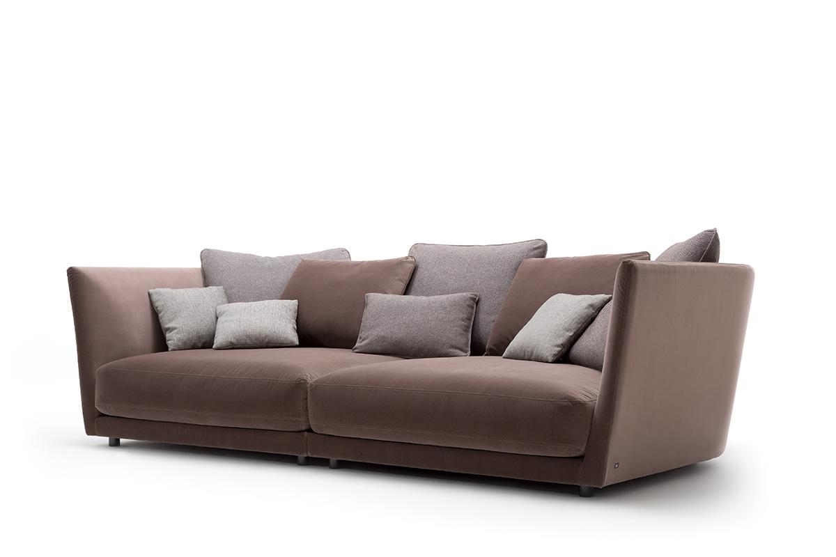 Rolf benz tondo sofa einrichtungsh user h ls in schwelm for Rolf benz wohnlandschaft