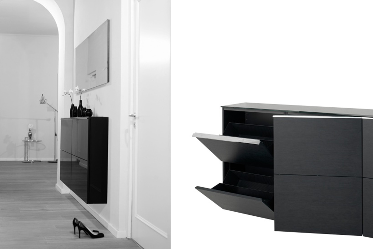 gro artig designer schuhschrank galerie die besten wohnideen. Black Bedroom Furniture Sets. Home Design Ideas