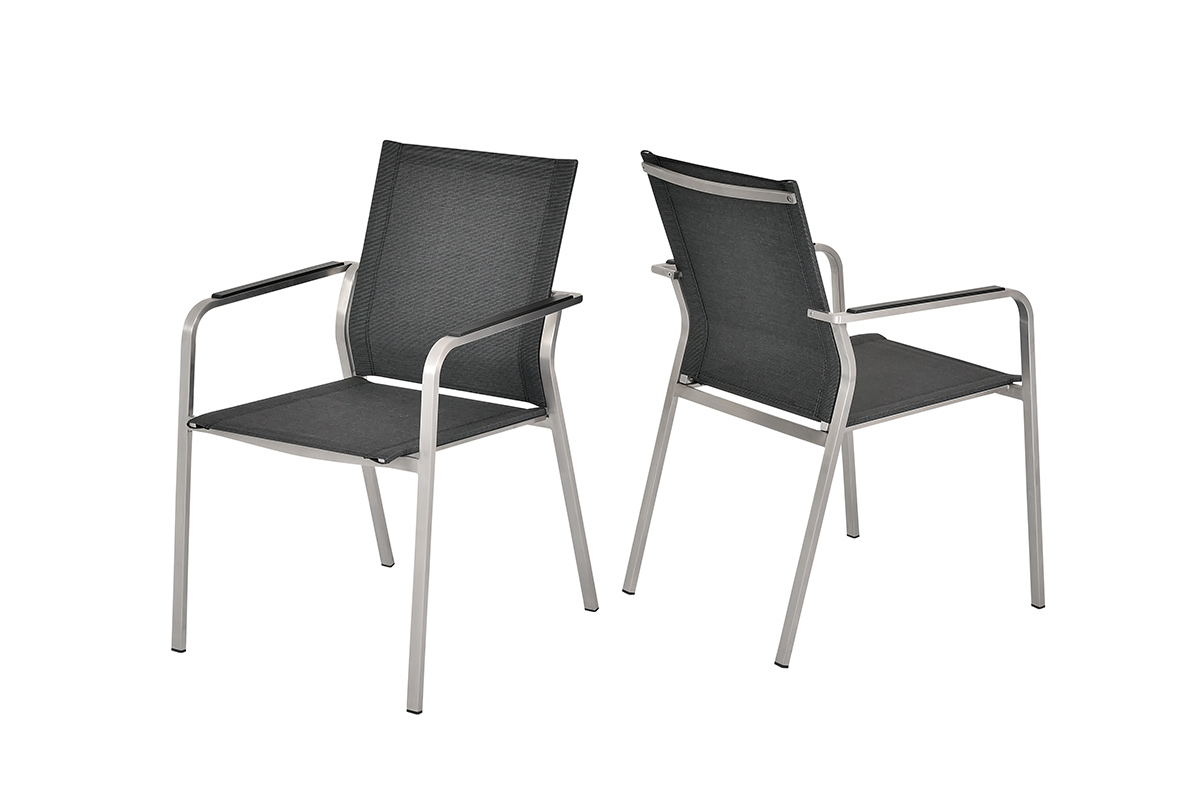 Sit mobilia Espanyol Gartenstuhl | Design-Gartenmöbel in Edelstahl ...