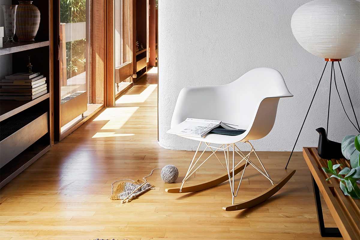 vitra schaukelstuhl rar eames plastic armchair h ls. Black Bedroom Furniture Sets. Home Design Ideas