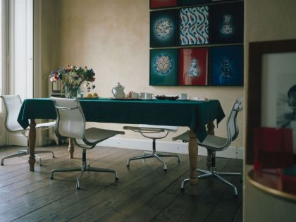 Vitra Aluminium Chair EA 105-108