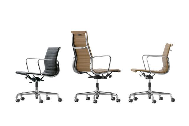 VITRA Aluminium Chair EA 117, EA 118 und EA 119