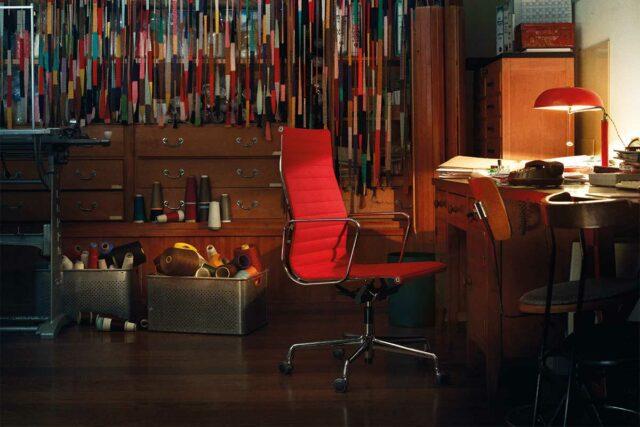VITRA Aluminium Chair EA 117 und EA 119